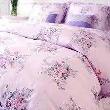 shabby pink bella rose bedding set