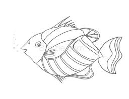 Printable Fish Stencil Download Them Or Print
