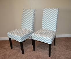 Picture 5 Of 5 White Parson Chair Slipcovers Awesome Dining Room
