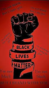 blm background black lives matter