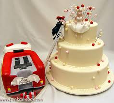 Rescue Me Themed Wedding Cake