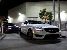 2013 Mercedes Benz CLS63 AMG Wrapped in Frozen white (Semi Matte ...