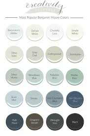 Benjamin Moore Aura Color Chart Most Popular Benjamin Moore Paint Colors