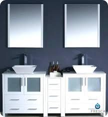 modern double sink vanity bathroom vessel sinks and vanities modern double sink bathroom vanity w one