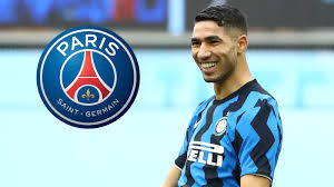 PSG sign Hakimi from Inter in deal worth up to €70m