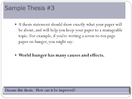the central focus of any essay ppt video online  sample thesis 3