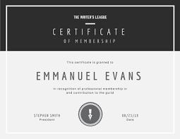 Certificate Of Recognition Template Free Download Customize 1 965 Certificate Templates Online Canva
