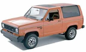 history of the ford bronco ii bronco ii corral history of the ford bronco ii