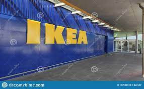 Exterior Of Ikea Store In Matosinhos, Portugal Showing Big Yellow Sign.  Editorial Stock Photo - Image of living, design: 177984133