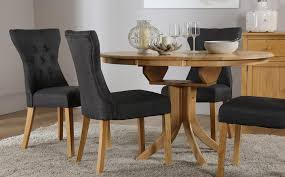 hudson round extending dining table 4 chairs set bewley
