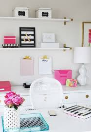 organize home office desk. operation organization amyu0027s organized kate spade inspired office space organize home desk e