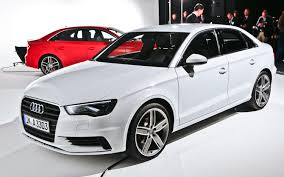 white audi 2015. Delighful White 2015 Audi A3S3 Sedan Debuts A3 Hatch PHEV Confirmed For US  2013 New  York Intended White U