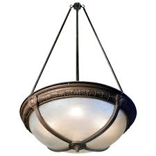 pebbled glass theater dome light 1