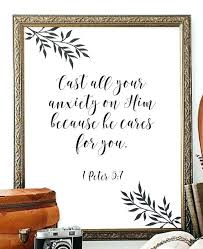 home decor wall art gifts religious scripture stickers