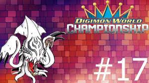 Digimon World Championship Digivolution Chart Digimon World Championship Episode 17 Double Digivolve