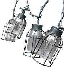 vintage style cage string lights 10 count