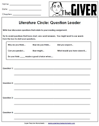 worksheets and activities for the giver the giver  worksheets and activities for the giver