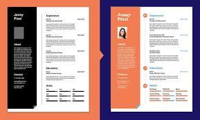 Indesign Creating A Modern Resume Create A Professional Resume Indesign Resume Template