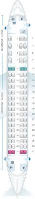 Seat Map Air Canada Embraer E175 Seatmaestro