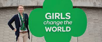 Girl scout empowering teens