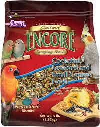 Cockatiel Diet Chart Encore Gourmet Foraging Feast Cockatiel Food Encore