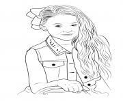 Jojo Siwa Coloring Pages Free Printable