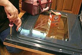 clean oven glass when your is way beyond self cleaning with baking soda clean oven glass