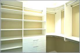 pleasurable closet corner shelves systems in organizer shelf ideas