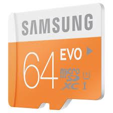 Samsung, eVO 64GB 48/MB/s, micro