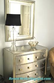 silver painted furniture. DIY Furniture Silver Painted