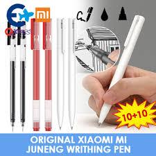Qoo10 - 1+1 <b>Original Xiaomi Mi</b> Juneng Writhing pen <b>Xiaomi MI Gel</b> ...