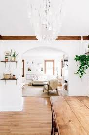 modern minimalist kitchen and dining room