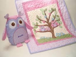 girls owl bedding baby
