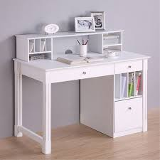 View a larger image of the Walker Edison Deluxe Home Office Writing Desk  with Storage and