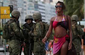 Rio de Janeiro'da güvenlik 1 hafta boyunca askerde