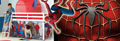 Make Your Little Boy Comfortable With These 12 Ideas Of Kids Spiderman Bedroom Furniture