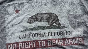 california flag rkba infringed t shirt