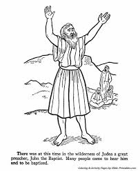 Baptism Coloring Pages Awesome Free Coloring Pages Jesus Baptism