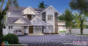 sloped roof house design by roshini rajeev