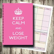 Diet Food Diary Slimming World Compatible Weight Loss Log Tracker