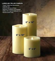 outdoor candles candle lantern with remote luminara indoor pillar 9