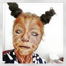 giraffe makeup tutorial