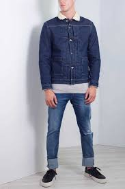 Levis Made And Crafted Size Chart Levis Made And Crafted Men Pleated Sherpa Trucker Jacket