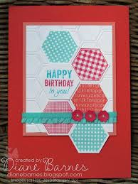 Birthday Card Sample Classy Hexagon Happiness Six Sided Sampler In Review Pinterest