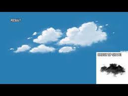 Creating Photoshop Cloud Brush Youtube