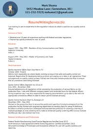 quality control officer resume sample   resume writing servicebefore