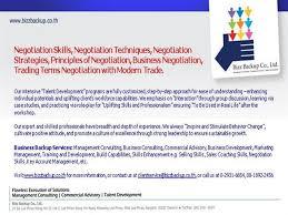 Negotiation Skills Negotiation Techniques Negotiation