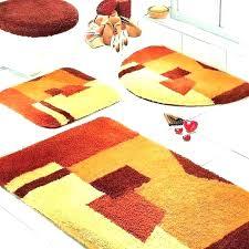 orange bath mats and towels rust colored bathroom rugs amazing lavish home ru inch bathroom vanity rust colored rugs