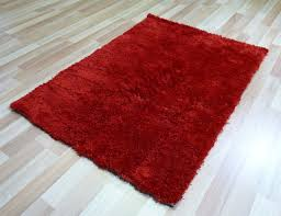 floor rug red soft plush gy carpet