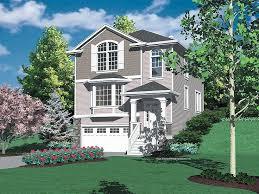 hillside house plan 034h 0100